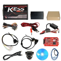 Kess V2 5.017 EU Version V5.017 Kess V2 EU Clone With Red PCB New Add Buzzer Support Online Add 140+ Protocol No Token Limited