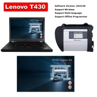 MB SD Connect C4 & Lenovo T430 4G I5 Laptop Installed V2019.9 Mercedes Benz Xentry DAS EPC Complete Software