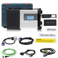 MB SD C5 With Doip Wifi Mercedes Benz SD Connect C5 Multiplexer For Mercedes Cars And Trucks