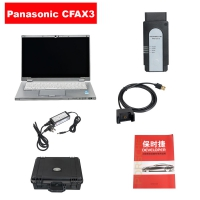 Genuine Porsche PIWIS Tester III PT3G with Panasonic CFAX3 240G SSD Laptop installed V37.250.020 Porsche Piwis 3 software