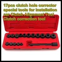 Generic 17pcs Clutch Hole Corrector Special Tools Clutch Mounting Tool Set for installation Car Clutch Alignment Tool