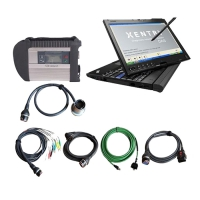 MB Star SD Connect C4 multiplexer with Thinkpad X201T Tabet pc installed V2019.9 Mercedes star diagnosis software ready to use