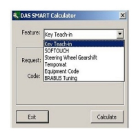 Mercedes DAS Smart Calculator for Mercedes-Benz das smart car tan code calculator