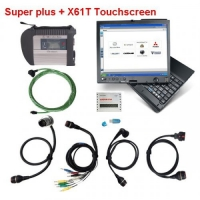 MB SD Connect C4 Mux with lenovo thinkpad x61 tablet pc installed V2019.9 Mercedes Benz Xentry das software ready to use