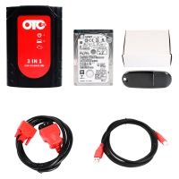 3 in 1 OTC Plus OTC GTS Plus OBD Scanner For Toyota Nissan and Volvo Diagnose And Programming With V14.00.018 Toyota TIS Techstream Download Software