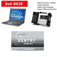 MB Star C5 Multiplexer Benz Xentry Connect C5 with Dell D630 Laptop Installed V2019.9 Mercedes Benz Xentry Das software