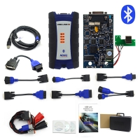 NEXIQ USB Link 2 Diesel Truck Diagnostic Tool NEXIQ2 With Bluetooth With Plastic Box for Heavy Duty Truck NEXIQ-2 +Software