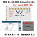 ODIS 4.4.10 Download Software 5 in 1 VAG Audi VW ODIS 4.4.10 Crack Software With ODIS Engineering 8.2.3 Download, ETKA 8.1, Elsawin 5.3 Built in 320GB HDD