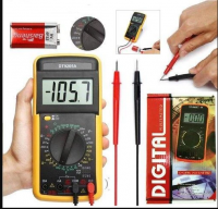 DT-9205A+ Portable Digital Multimeter‎ AC DC Voltage Tester With Digital LCD