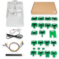 BDM Frame With LED With 4 Probes and Mesh + 22pcs BDM Probe Adapters Full Set for KESS KTAG