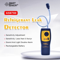 AS5750 Refrigerant Gas Leak Detector Gas detector Automotive Air Conditioning Used For Location Determine Tester alarm detect