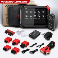 XTOOL X100 Pad2 Pro with KS-1 TOYOTA Smart Key Simulator and KC100 Key Programmer Adapter Full Configuration for All Lost