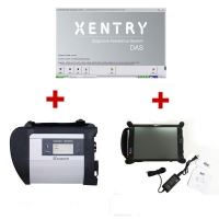 MB Star SD Connect C4 multiplexer with EVG7 Tablet PC installed V2019.9 Mercedes Benz Xentry das software