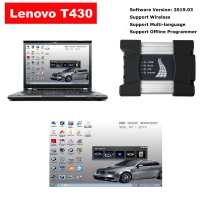 Wifi ICOM Next Diagnostic BMW ICOM NEXT A + B + C With Lenovo T430 4G I5 Laptop installed V2019.3 ISTA BMW Software