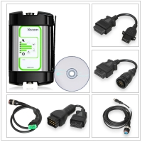 Volvo Vocom Adapter 88890300 Vocom Online Update Volvo Truck Diagnostic Tool with Round Adapter for Volvo/Renault/UD/Mack Truck Diagnose