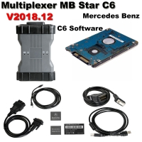 Benz C6 OEM Multiplexer MB Star C6 Mercedes Benz Xentry diagnosis VCI With Doip Fuction And V2018.12 Mercedes Xentry/Das Software No Need Activation