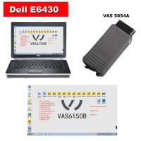 Vas 5054a VW Audi Diagnostic Tool With Dell E6430 Laptop Installed 5 in 1 ODIS 4.4.10 Software Full set