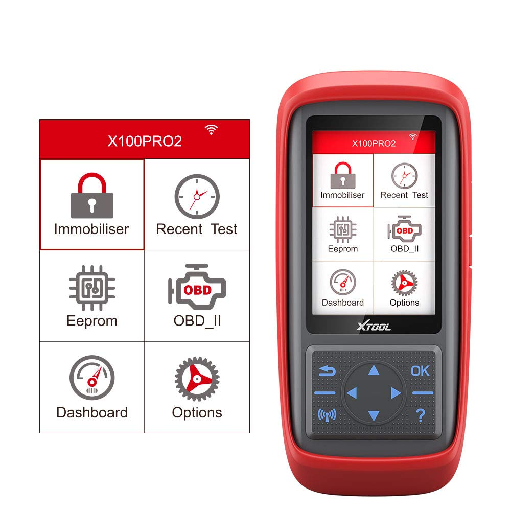 From US XTOOL X100 Pro2 Programmer For Most Make Code Reader Odo//ECU programming